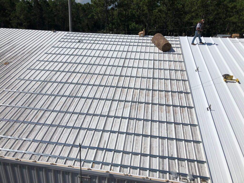 Re-Roofing (Retrofitting) Metal Roofs-Mid-Florida Metal Roof Contractors of Pembroke Pines